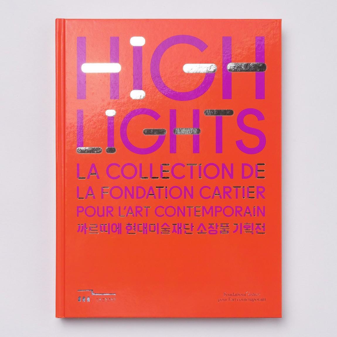 法国当代艺术博物馆作品展(Highlights)品牌创意整体形象设计, vi设计
