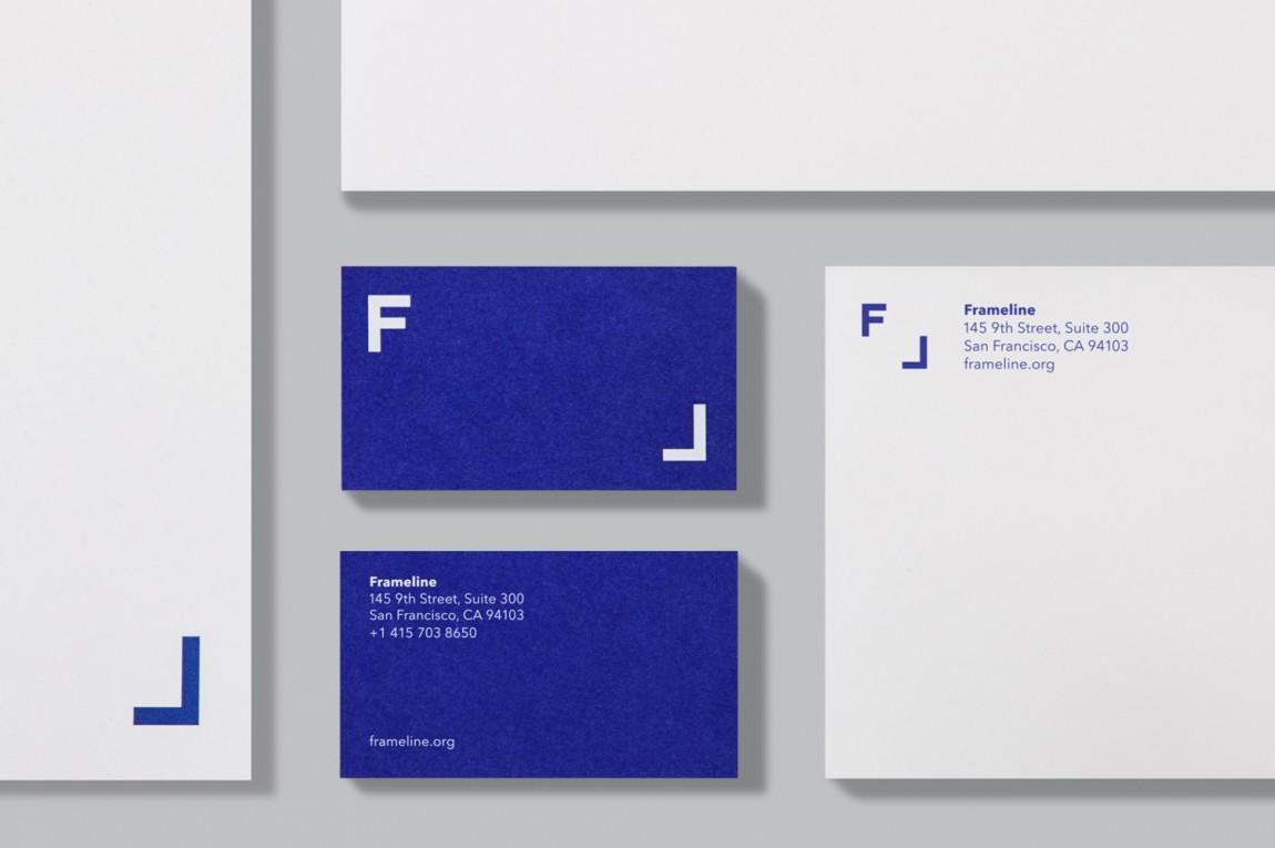 VI设计机构视觉传达设计案例分享:Frameline 41, vi设计