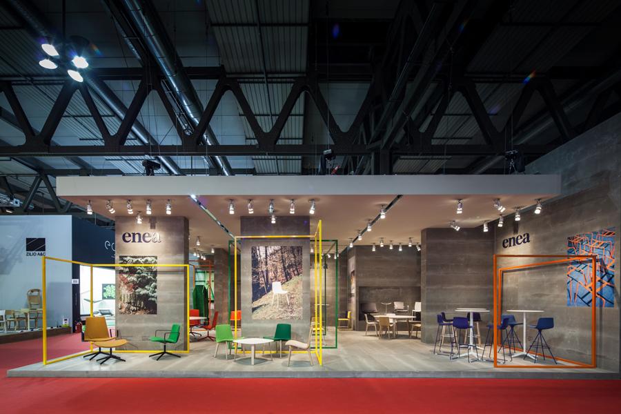 Enea家具制造商公司vi设计,空间设计