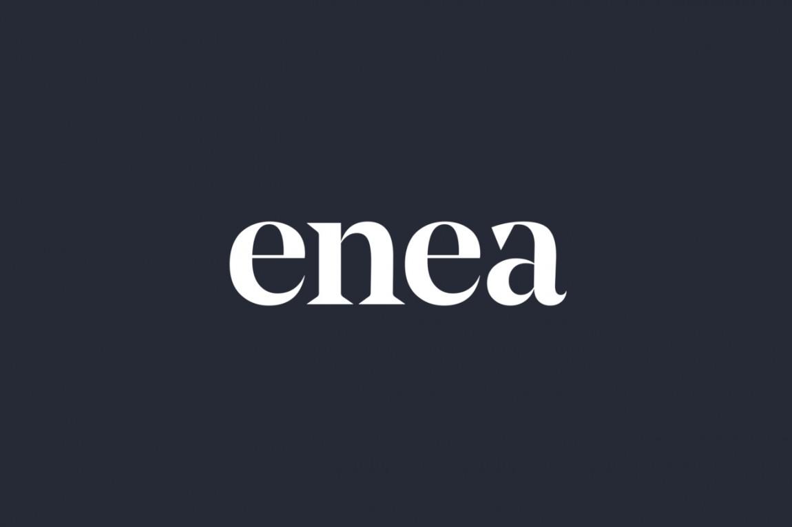 Enea家具制造商公司vi设计,字体logo设计