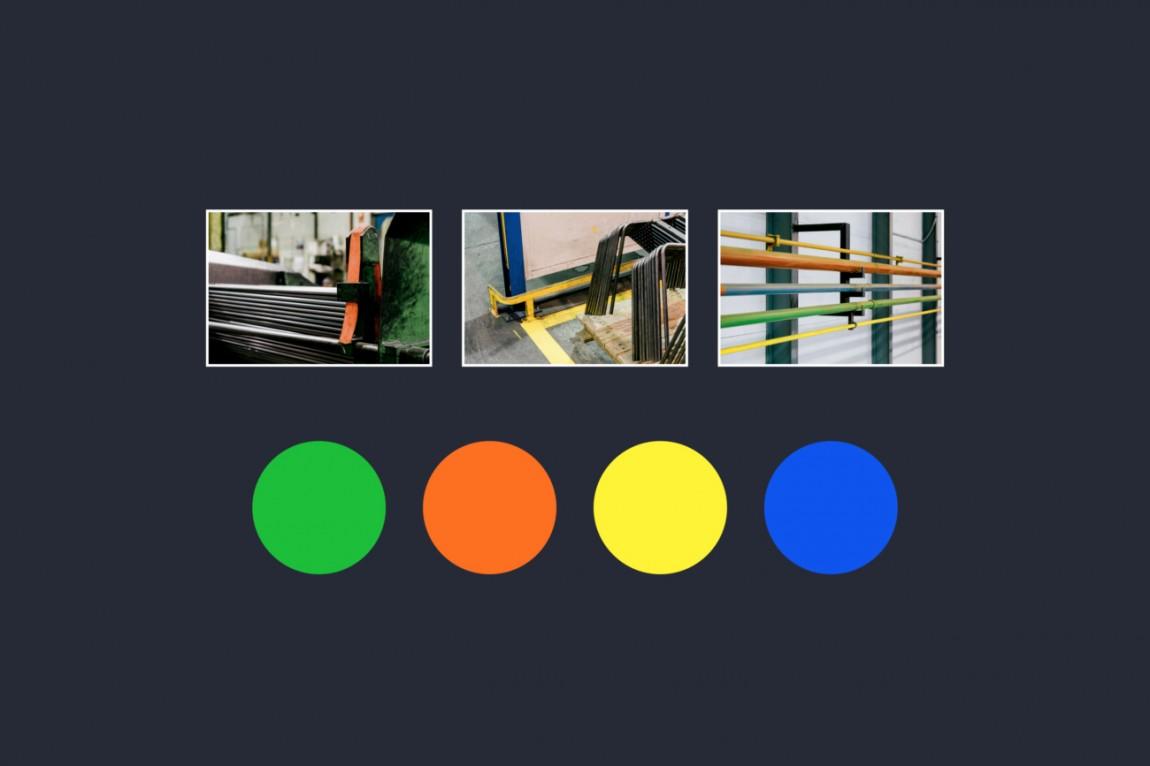 Enea家具制造商公司vi设计,颜色设计