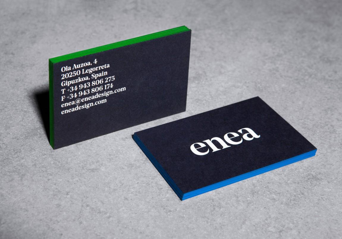 Enea家具制造商公司vi设计,办公应用设计