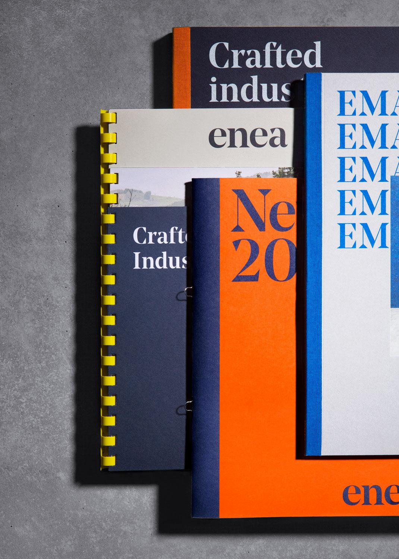 Enea家具制造商公司vi设计,画册设计