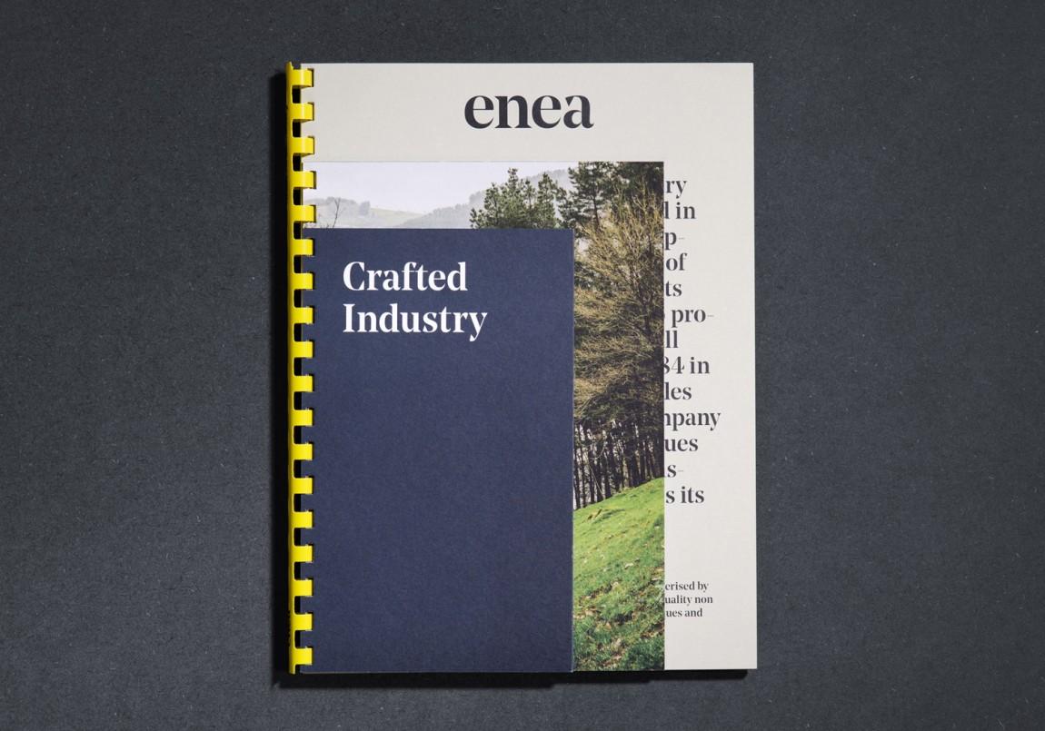Enea家具制造商公司vi设计,企业画册设计