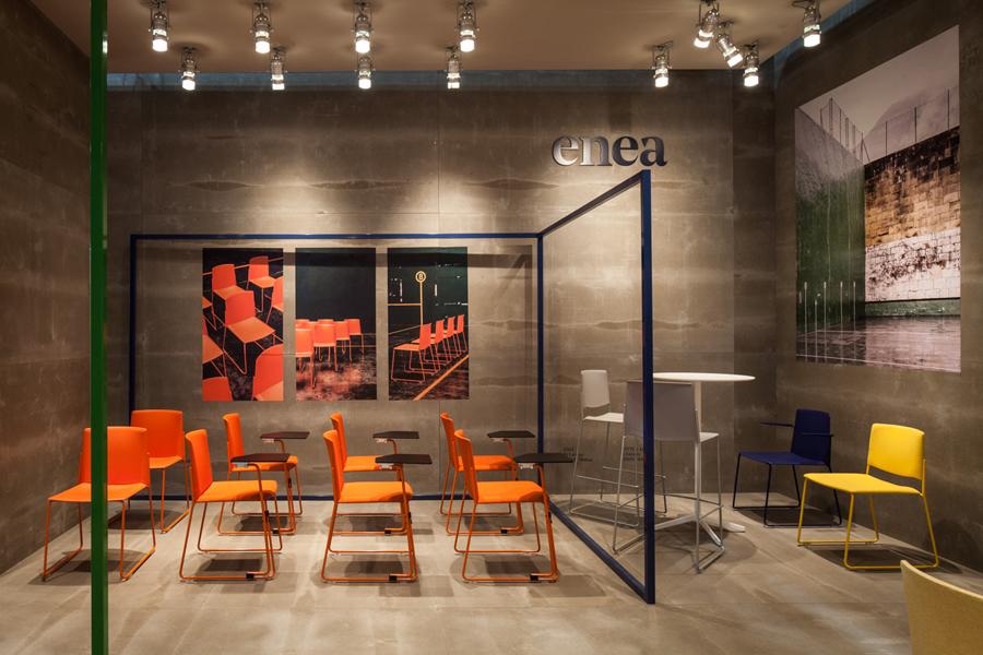 Enea家具制造商公司vi设计,展厅设计