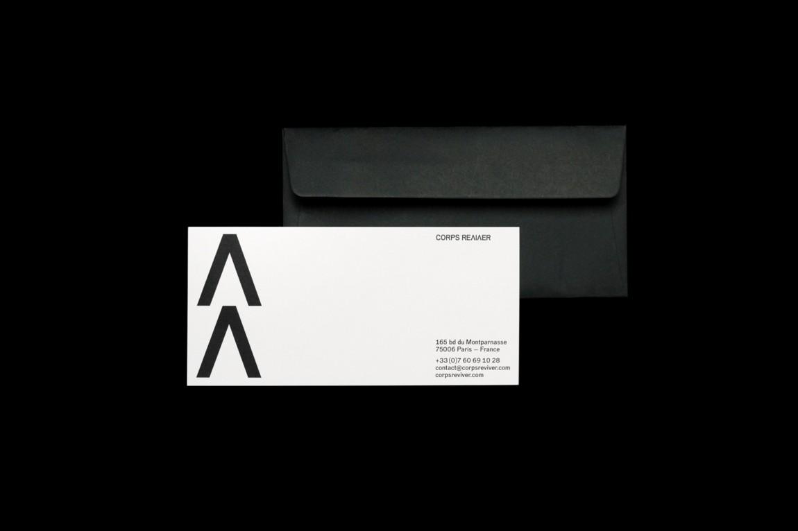 军团复兴出版商视觉传达艺术设计, 信封设计