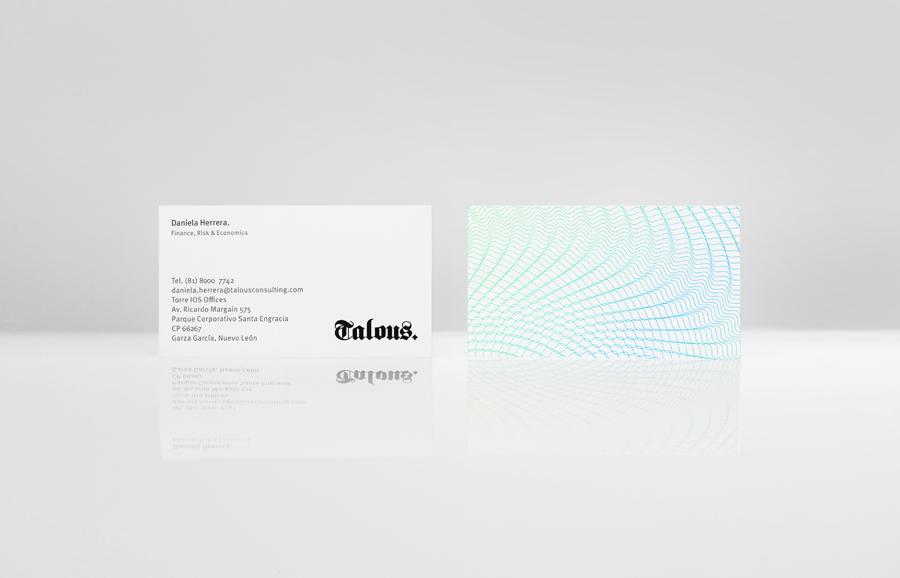 Talous金融投资银行公司vi设计,名片设计