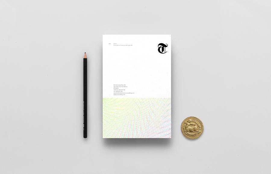 Talous金融投资银行公司vi设计,办公应用设计