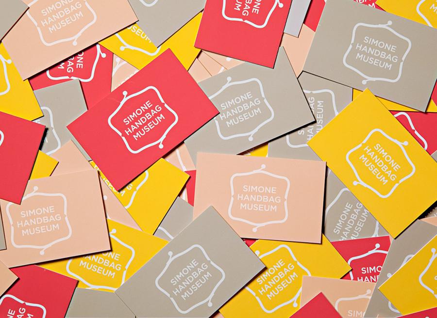 Simone手袋博物馆vi形象设计品牌塑造,卡片设计