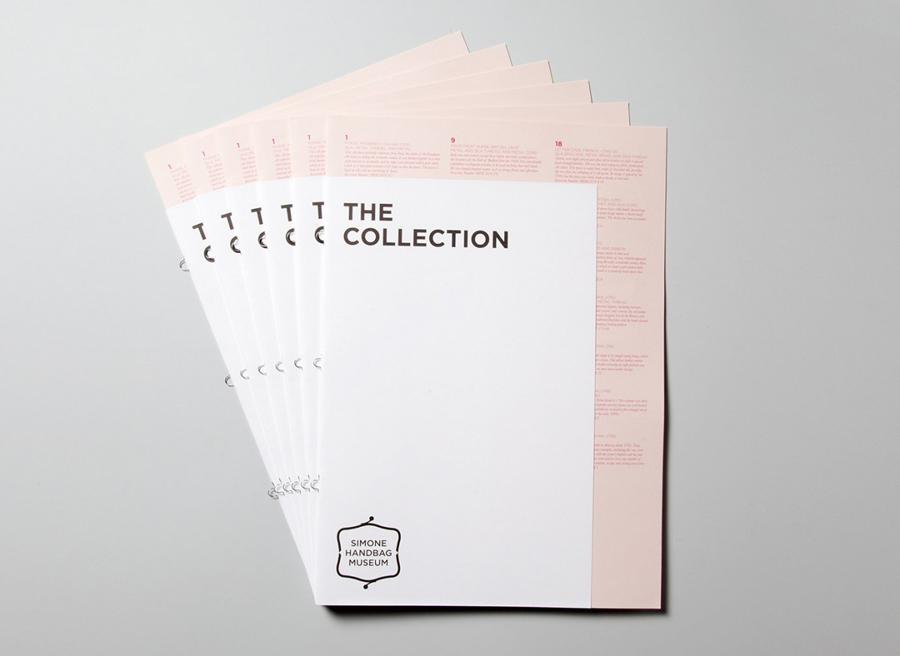 Simone手袋博物馆vi形象设计品牌塑造,文档设计