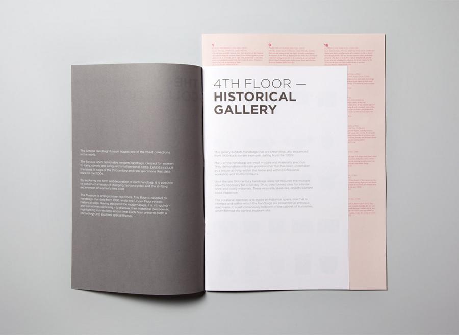 Simone手袋博物馆vi形象设计品牌塑造,画册设计