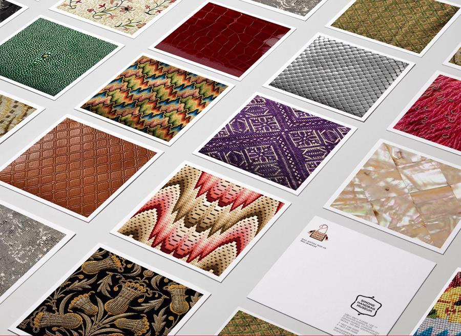 Simone手袋博物馆vi形象设计品牌塑造,vi设计