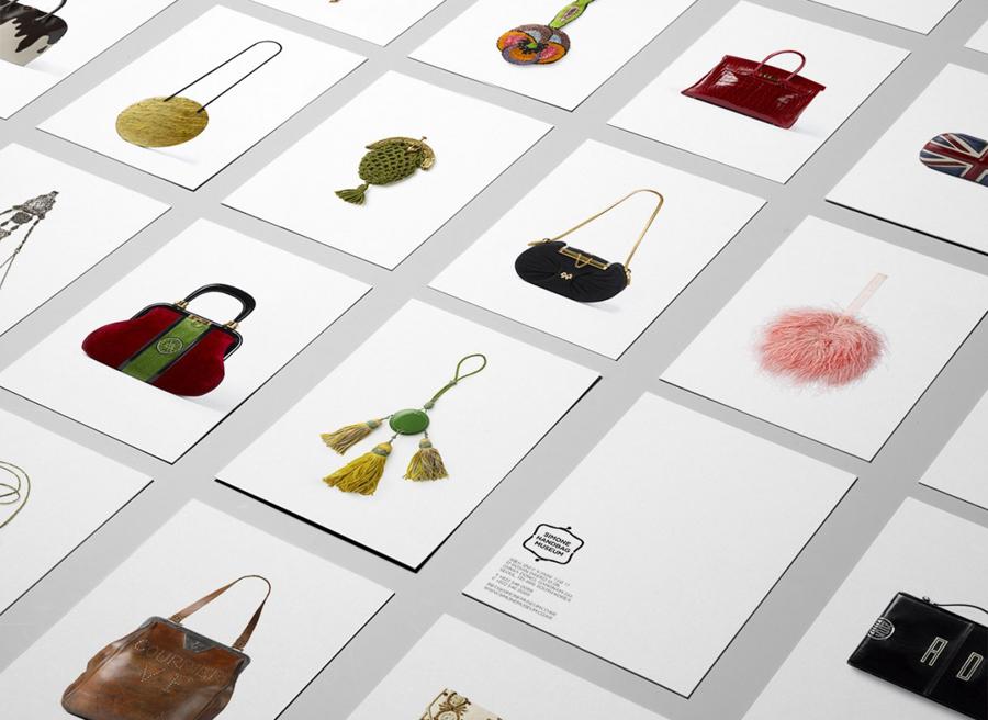 Simone手袋博物馆vi形象设计品牌塑造,vis手册设计
