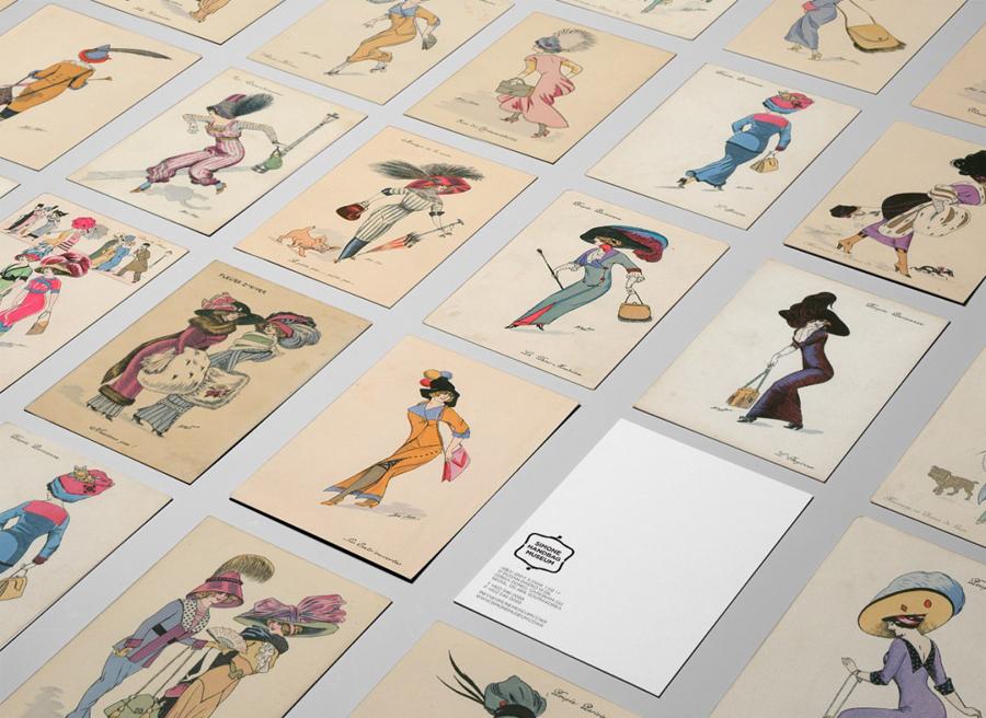 Simone手袋博物馆vi形象设计品牌塑造,广告设计