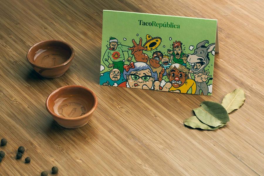 4A广告公司分享:热情和疯狂墨西哥餐厅vi设计创新设计