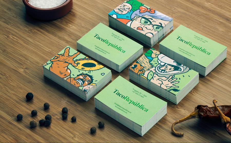 4A广告公司分享:热情和疯狂墨西哥餐厅vi设计创新设计,餐饮vi设计