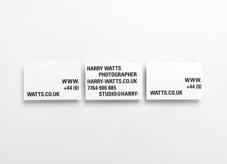 Harry摄影公司vi设计,企业形象设计,名片设计