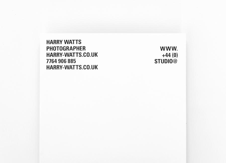 Harry摄影公司vi设计,企业形象设计,信纸设计