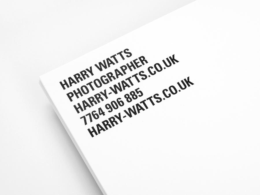 Harry摄影公司vi设计,企业形象设计