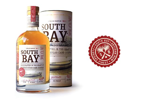 南湾朗姆酒包装设计,采用了密封美学
