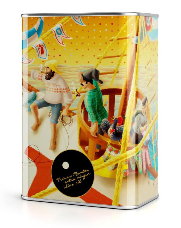 NTGJ限量版橄榄油包装设计,礼品包装设计
