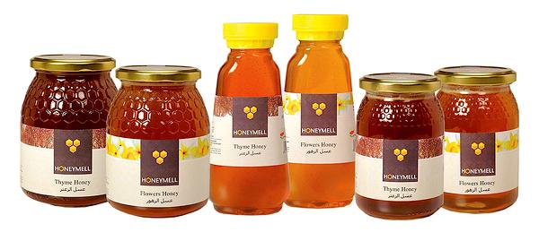 乡村田园蜂蜜包装设计
