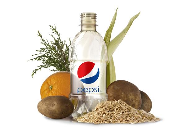 Pepsi 百事可乐公司植物饮料包装设计