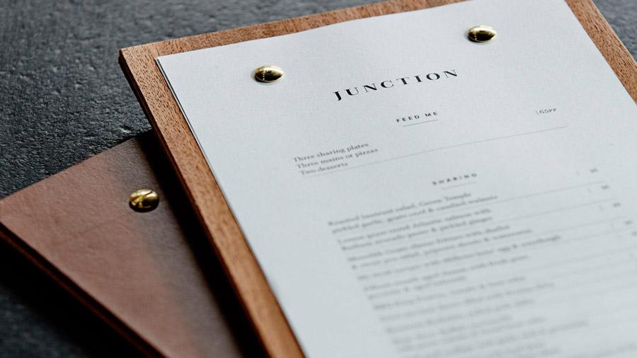 Junction酒吧餐厅品牌设计,菜单设计