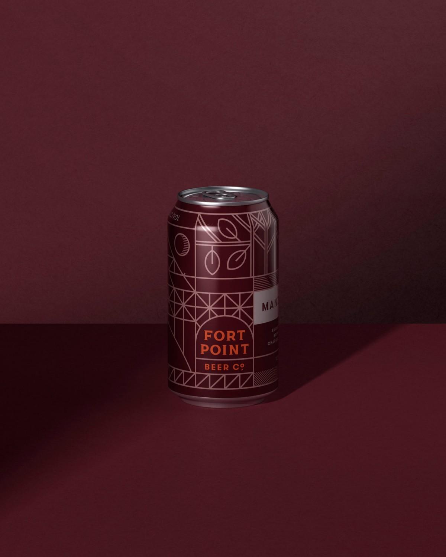 旧金山FPB公司精酿啤酒公司vi设计,易拉罐包装设计
