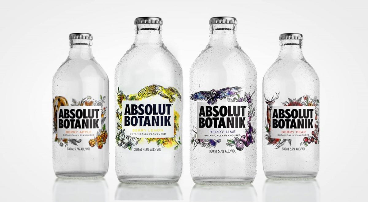 定制化预调伏特加高端包装设计,酒瓶设计