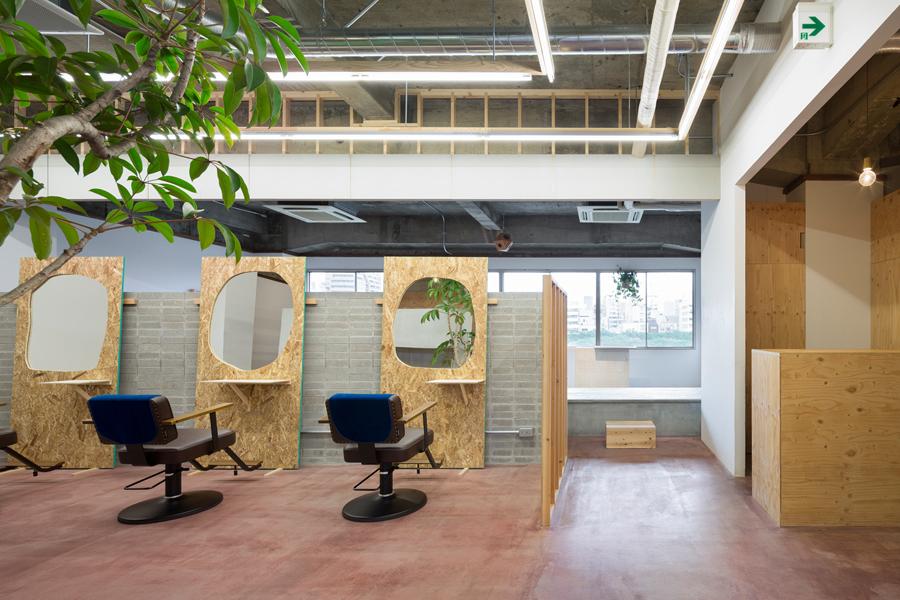 发廊连锁品牌Laji品牌形象策划vi设计,商业空间si设计