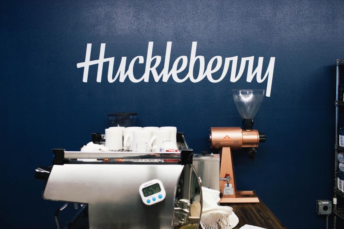 Huckleberry咖啡烘焙企业vi形象设计,字体logo设计
