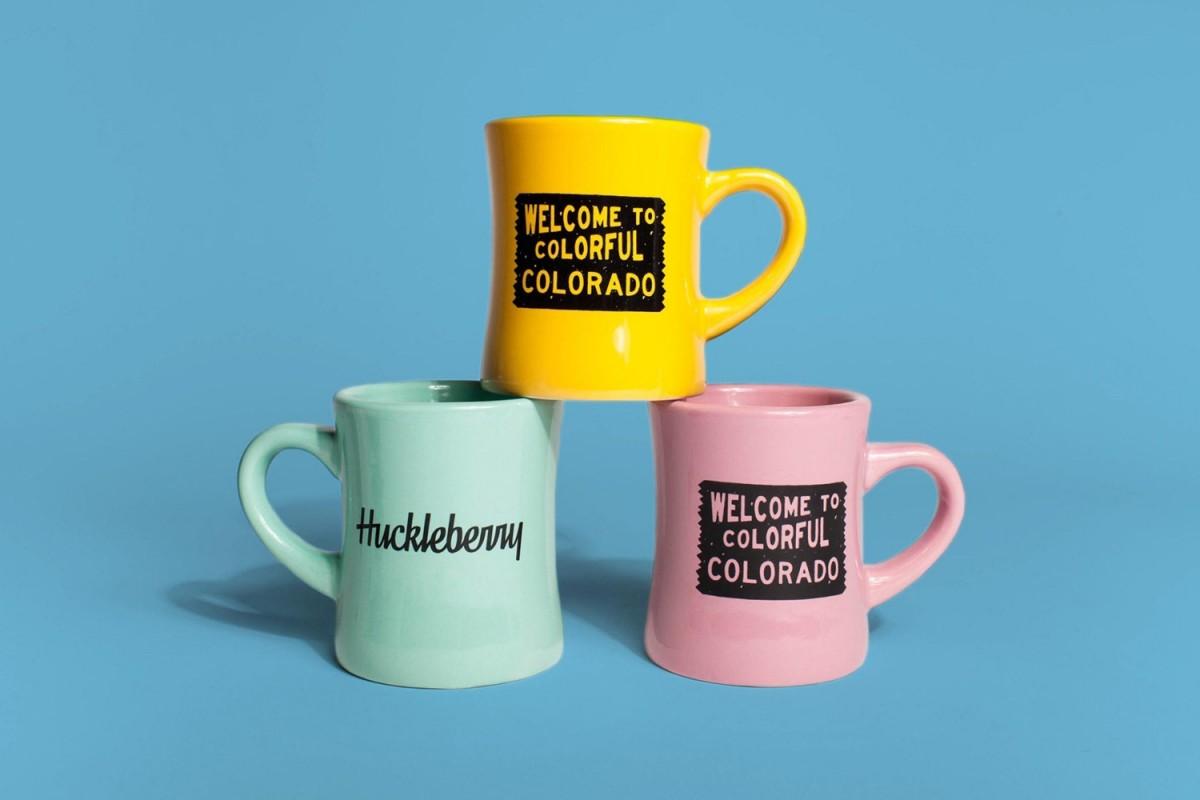 Huckleberry咖啡烘焙企业vi形象设计,马克杯设计