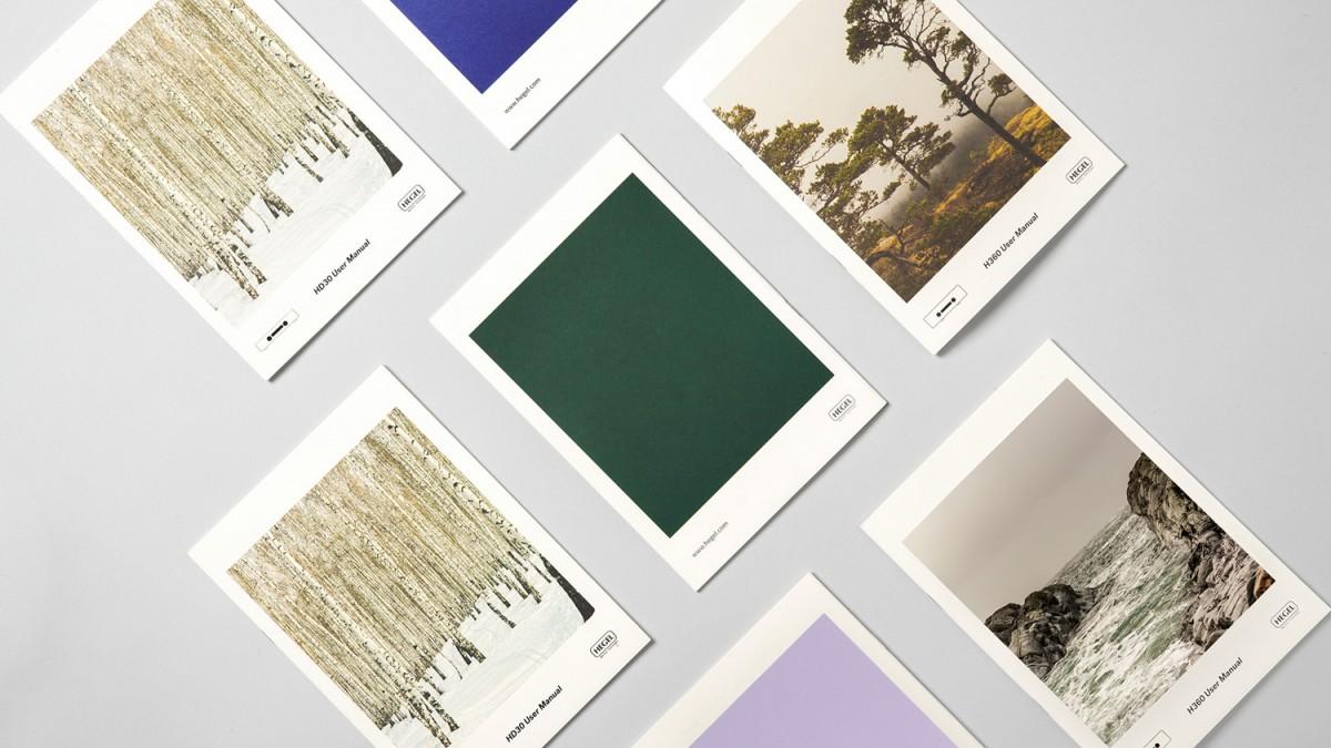 黑格尔Hegel品牌形象塑造,画册设计
