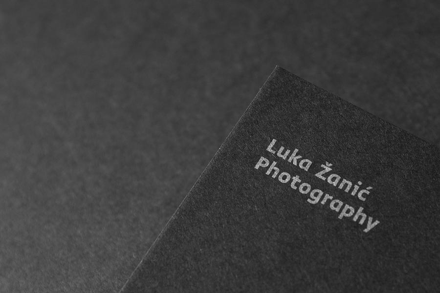卢卡摄影公司vi企业形象设计,印刷工艺