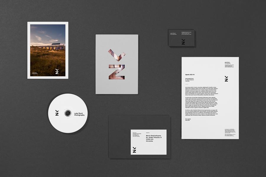 卢卡摄影公司vi企业形象设计,vis设计