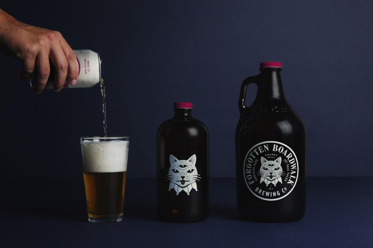 国外啤酒品牌形象策划,vi企业形象设计,logo应用设计