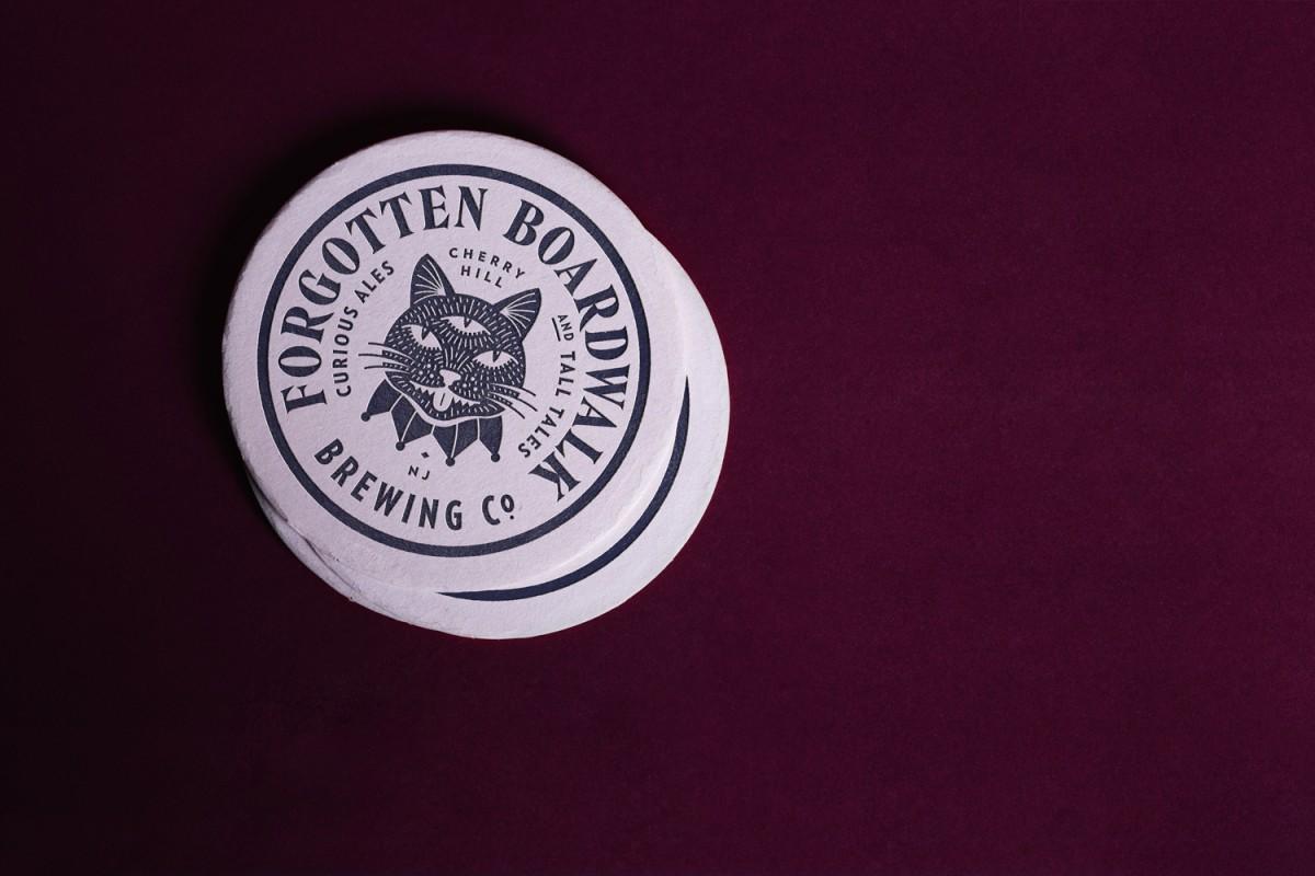 国外啤酒品牌形象策划,vi企业形象设计,杯垫设计
