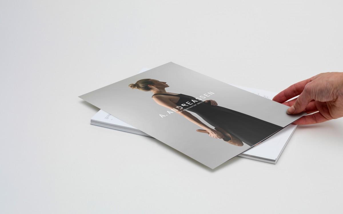 A. Andreassen品牌logo设计和包装设计,画册设计
