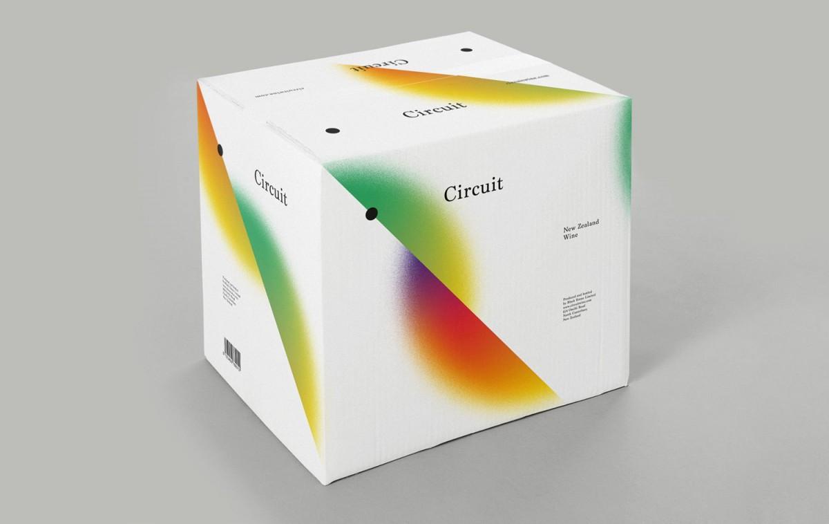 Circuit葡萄酒包装设计,vi品牌形象塑造