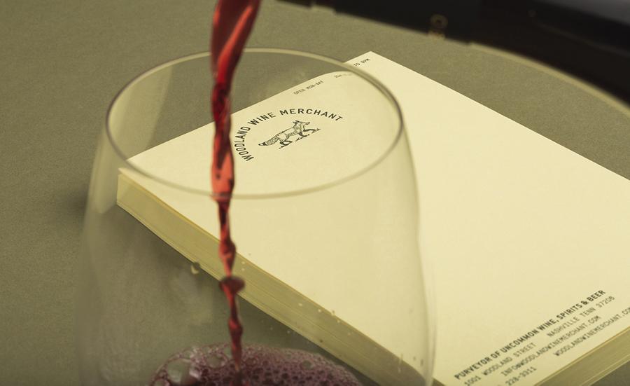 Woodland葡萄酒品牌vi设计和包装设计,品牌摄影