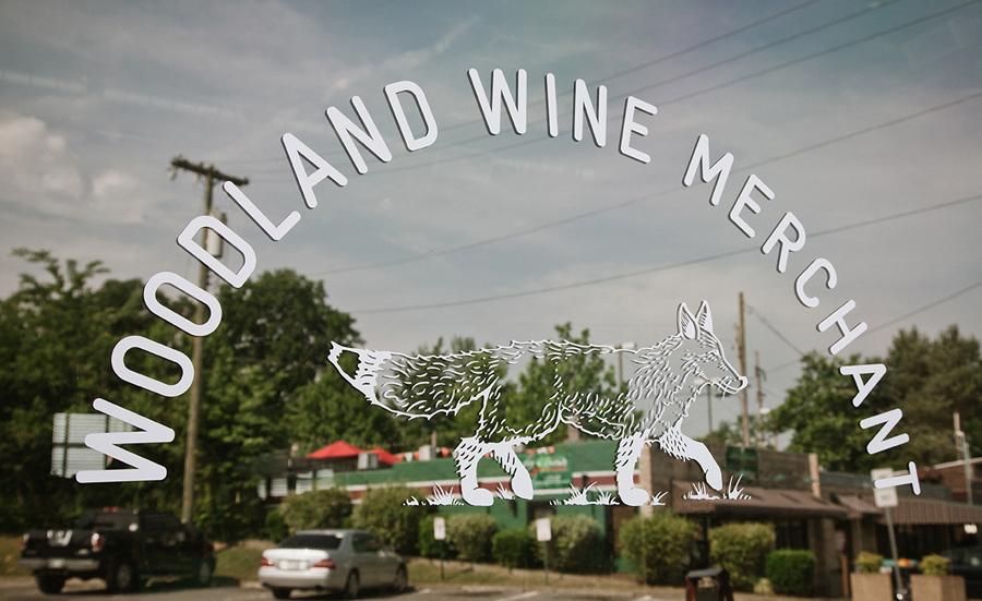 Woodland葡萄酒品牌vi设计和包装设计,字体设计