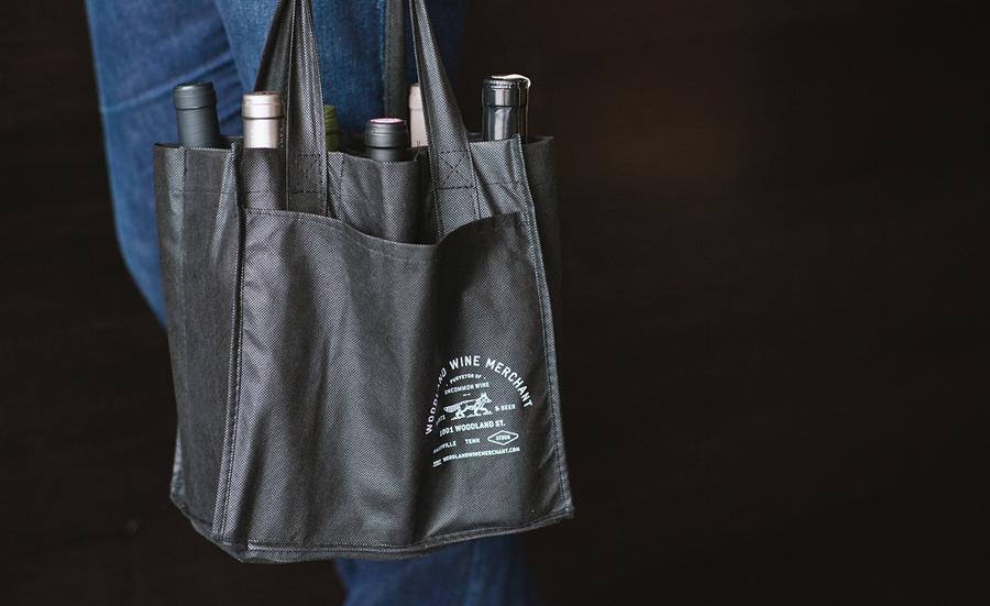 Woodland葡萄酒品牌vi设计和包装设计,手提袋设计