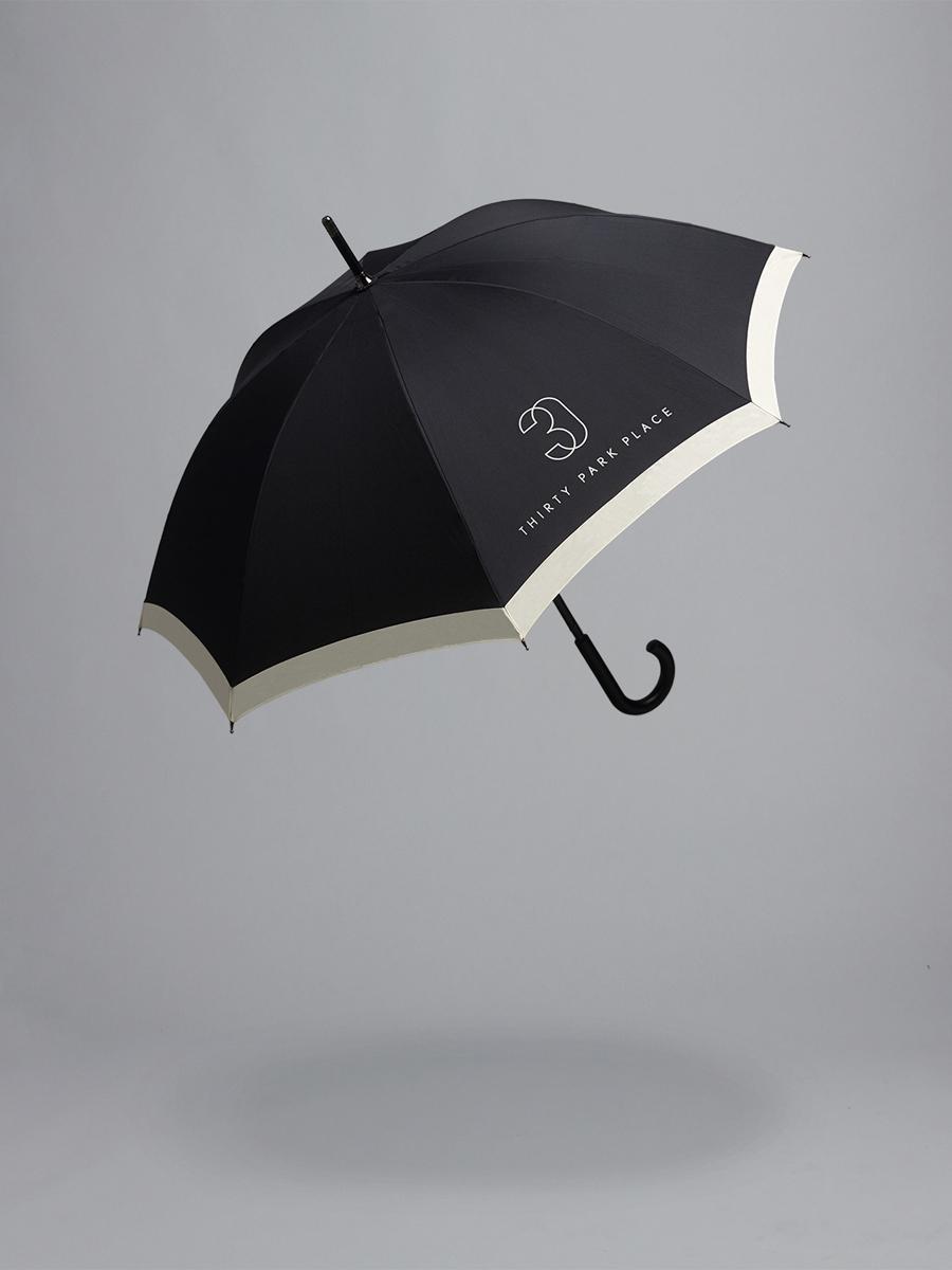 四季酒店私人住宅品牌形象设计,地产vi设计,广告伞设计