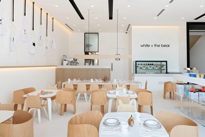 迪拜儿童餐厅空间设计,促进孩子创造力和想象力