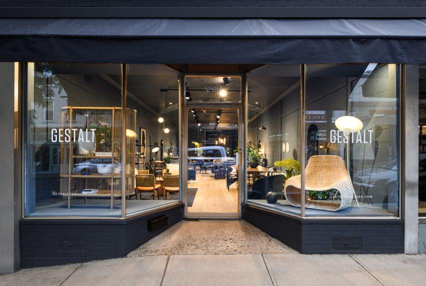 设计鉴赏家的Gestalt 家具店空间装修设计