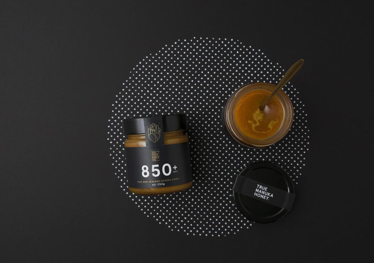 蜂蜜公司mānuka蜂蜜品牌包装设计,vis设计