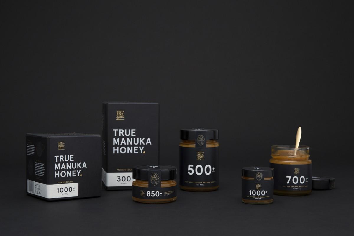 蜂蜜公司mānuka蜂蜜品牌包装设计,产品包装设计