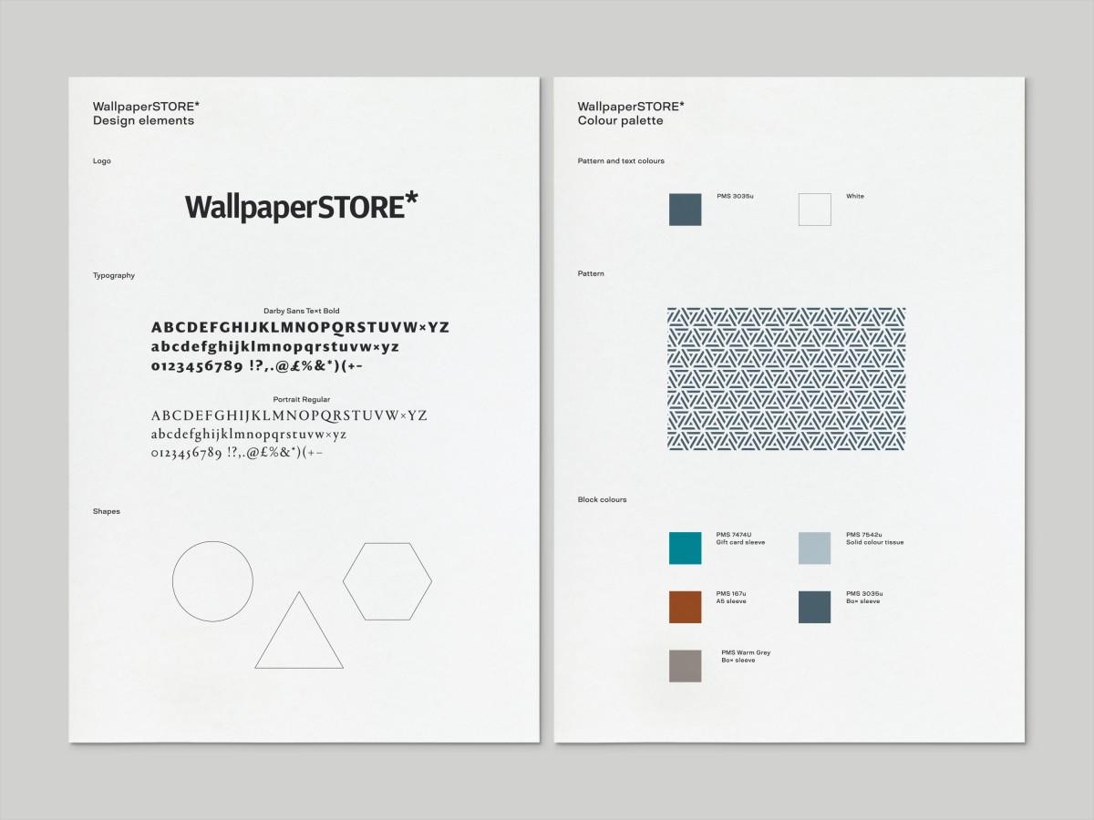 引人注目的Wallpaper系列包装设计, vis设计,信纸设计