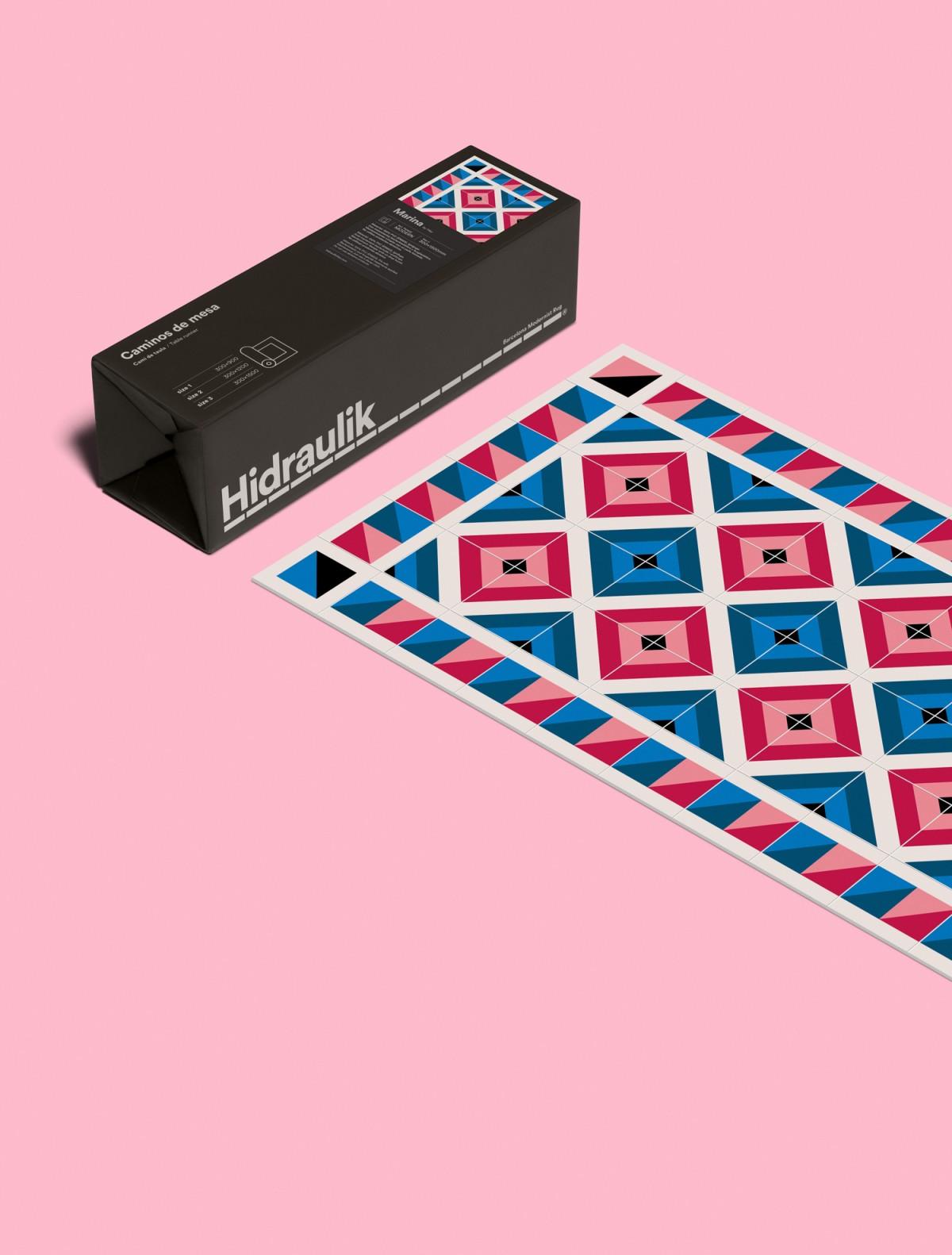 Hidraulik地垫、桌垫和跑步机产品品牌包装设计,logo设计